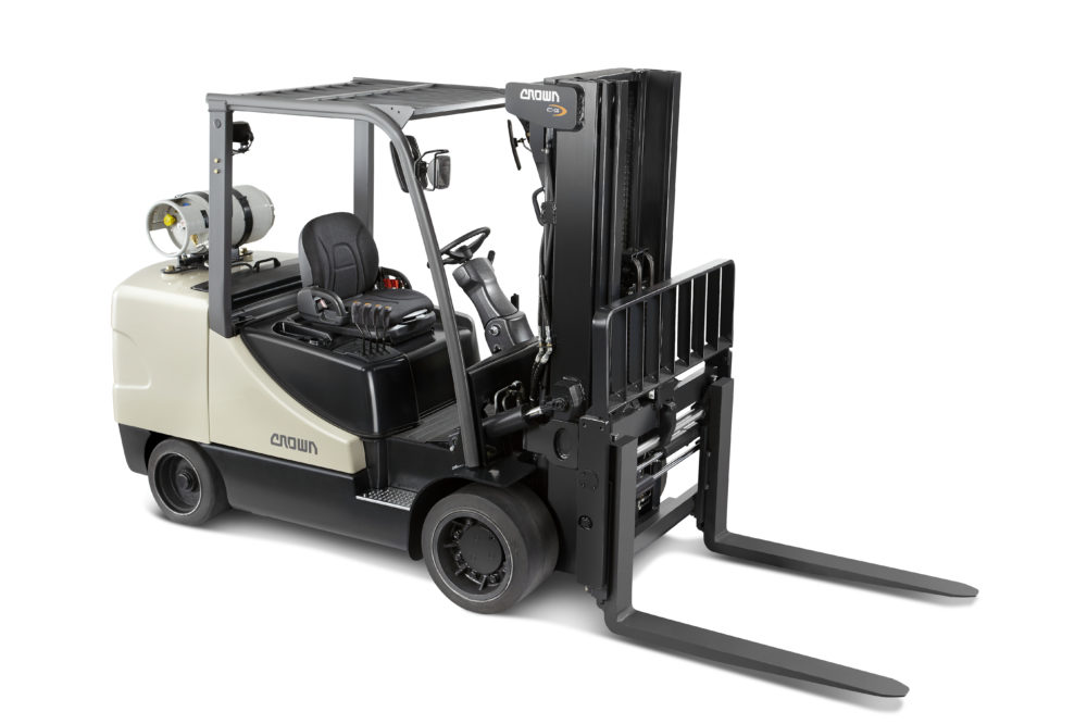 New Crown GC 55 model fork lift for sale