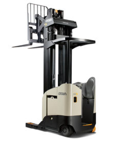 Crown single reach model fork lift for sale