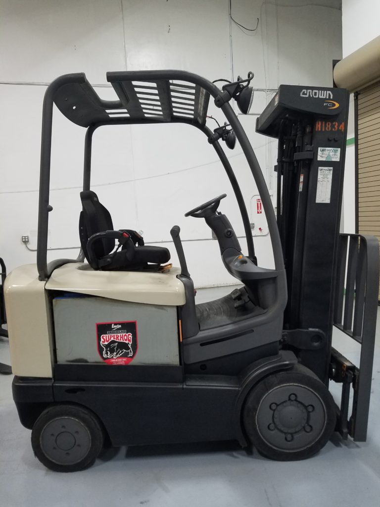 Used Trucks Jacksonville Fl >> Crown FC4515-50 Used Electric Forklift Truck R1834 - Lift ...